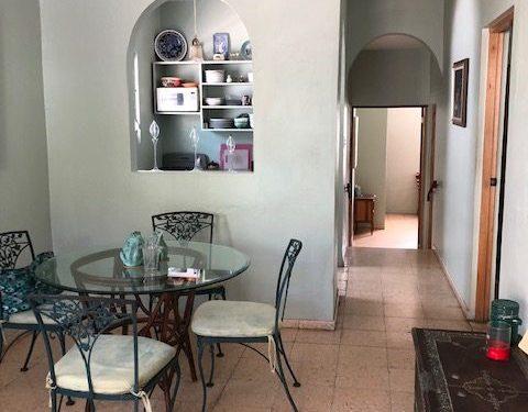dining kitchen arch